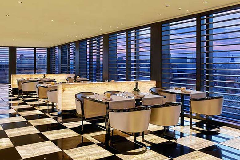 Photo of Armani/Ristorante on the seventh floor of the Armani Hotel Milano