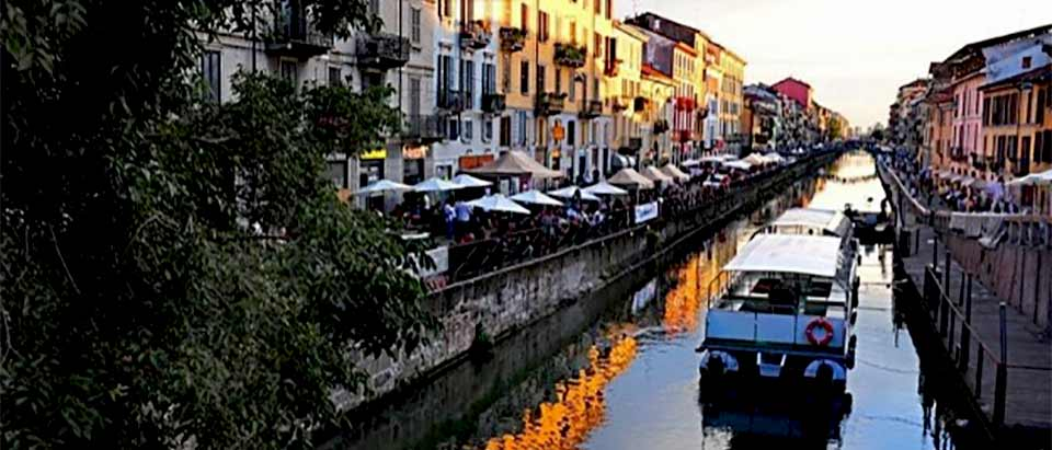 Enjoy canal cruises on the Navigli