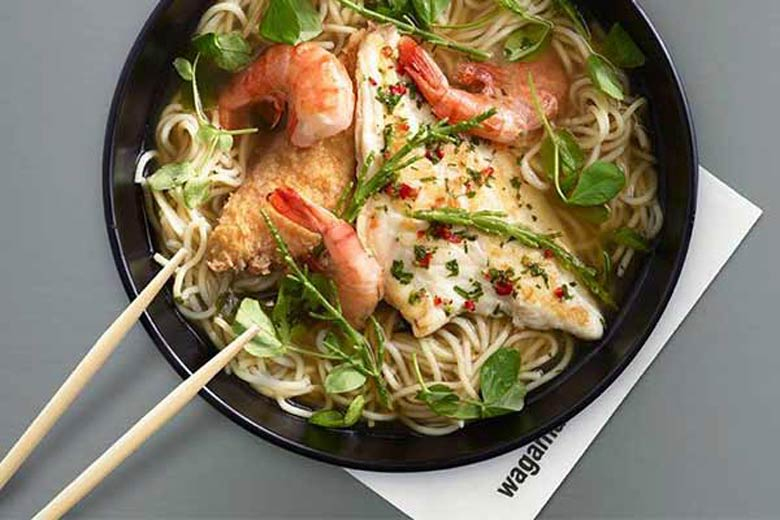 Photo of Oriental cuisine specialties by Wagamama