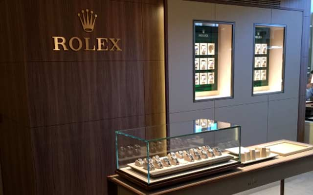 The Rocca boutique, Rolex retailer in Milan