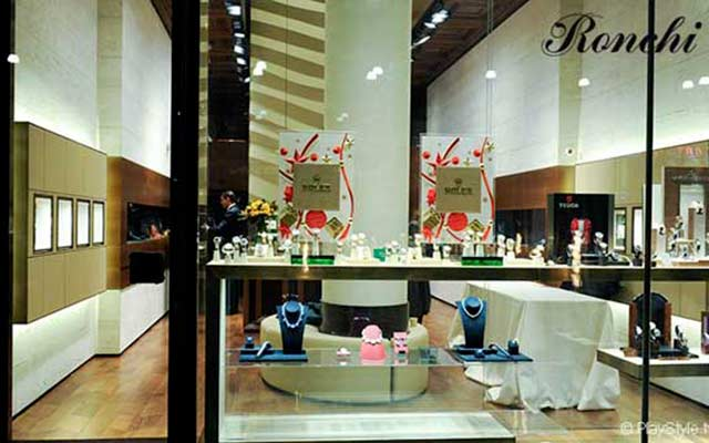 The Ronchi boutique, Rolex retailer in Milan