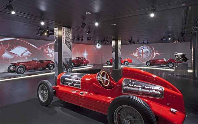 Alfa Romeo Museum in Arese