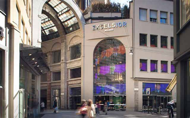Department stores and shopping centers in milan www for Executive milano