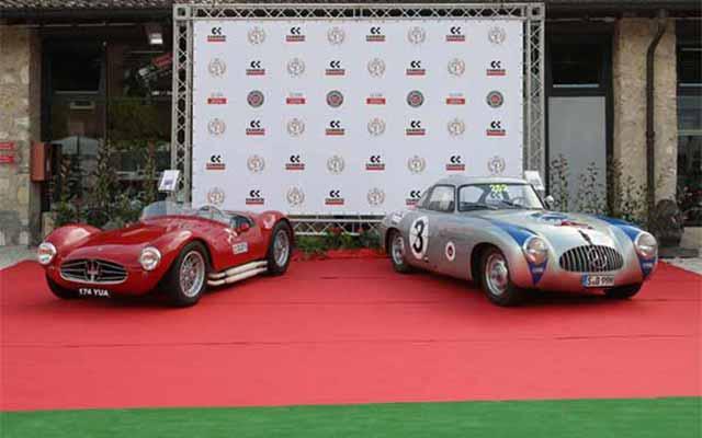 The Mille Miglia Museum in Brescia