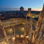 Palazzo Reale from above, photo credits (c) Milano Panoramica