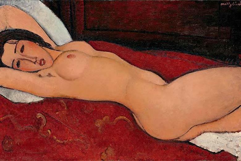 """Photo of """"Nudo disteso"""" by Amedeo Modigliani"""