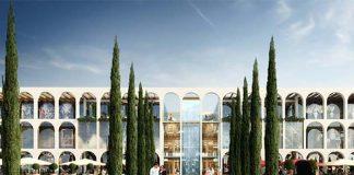 A rendering of Westfield Milan