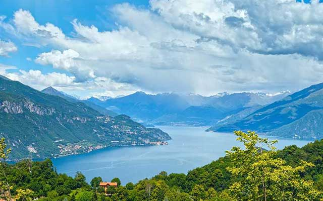 One-day trip to the Como Lake