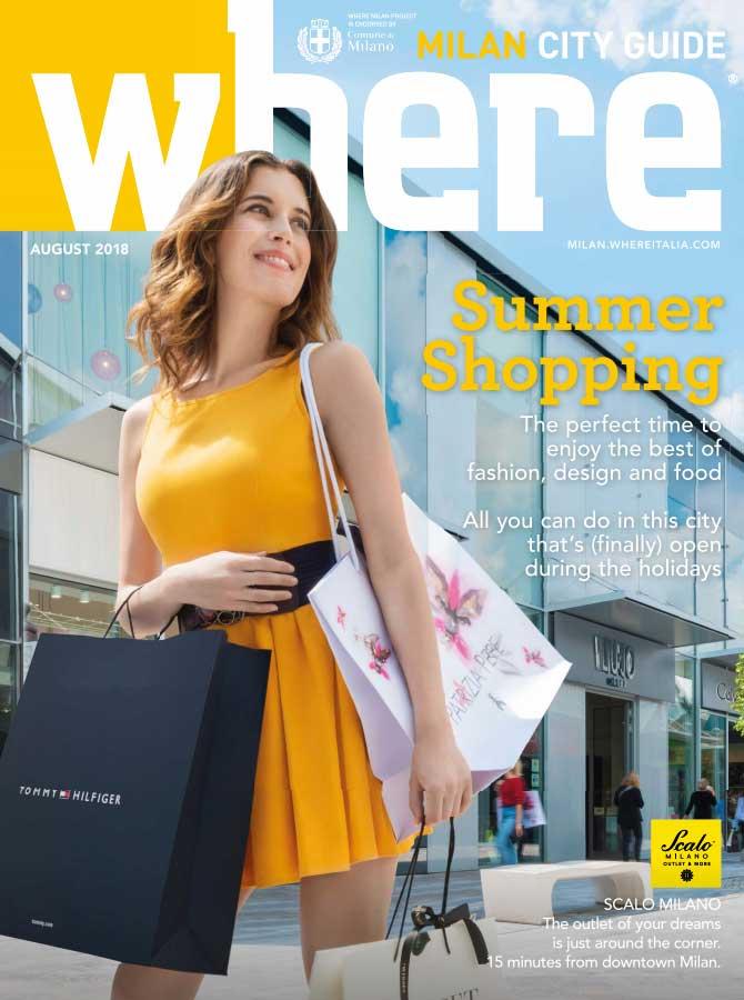 Cover Where Milan n.94 - August 2018