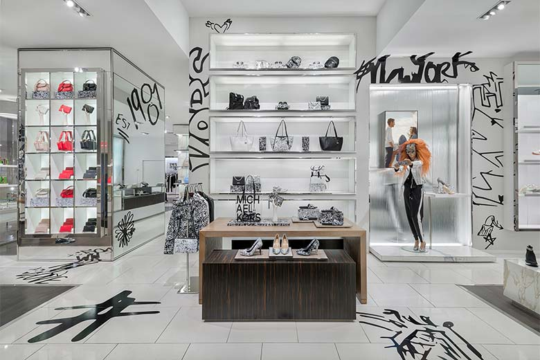715fd02a14 Michael Kors Introduces its Graffiti Collection, with Candy Pratts ...