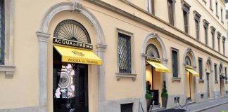 Acqua di Parma, the store in via Gesù, Milan
