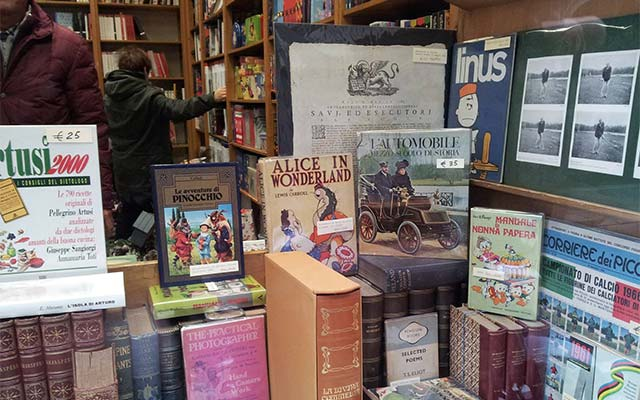American Bookstore in Milan