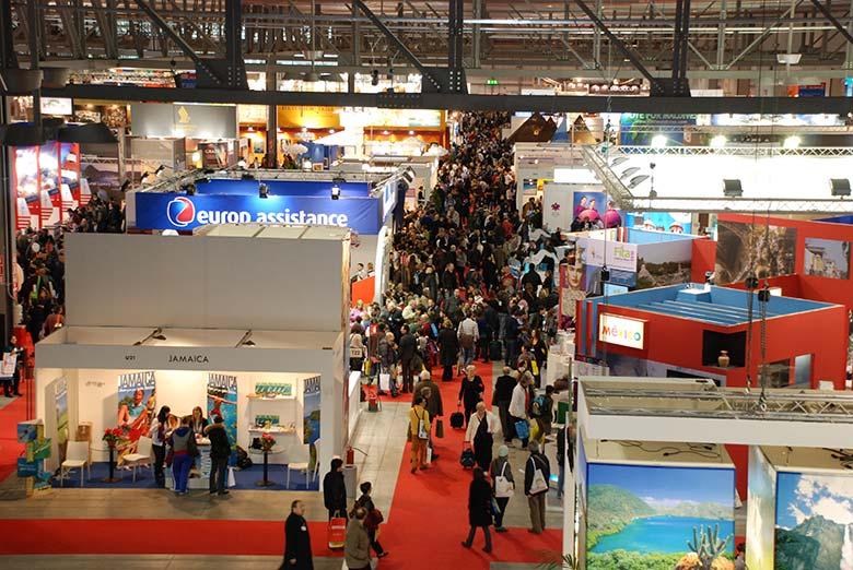 A view of the BIT Milano fair