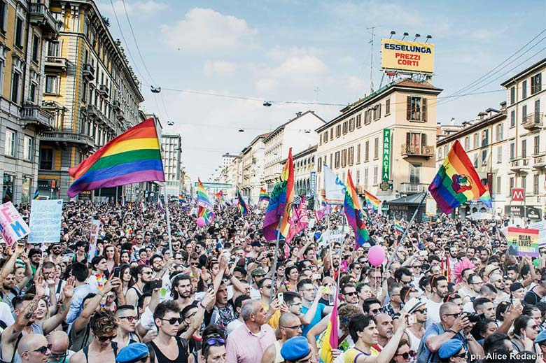 Milano Pride parade 2017, photo credits Alice Redaelli