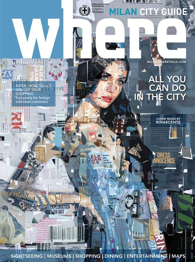 Cover Where Milan n.95 - September 2018