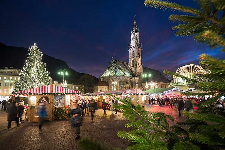 Bolzano during Christmas