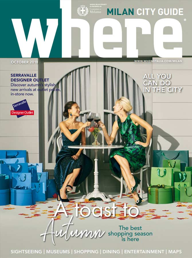 Cover Where Milan n.96 October 2018