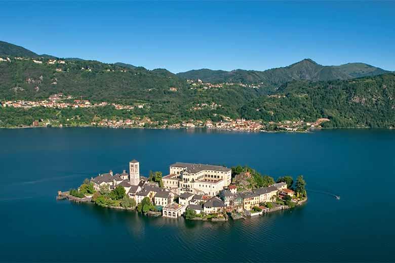 Lago d'Orta, near Milan