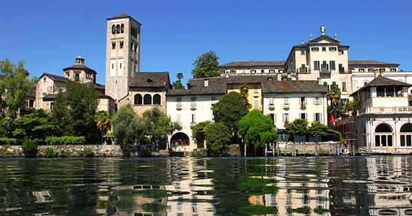 Monastero San Giulio, Lago d'Orta