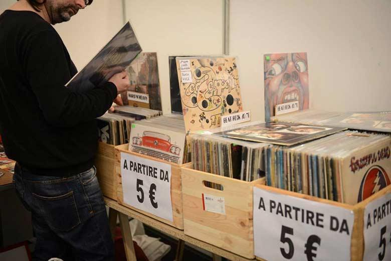 Vinyl expo Milan Novegro