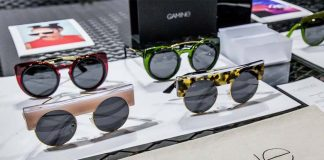 Gamine eyewear, one of Miror's featured brands