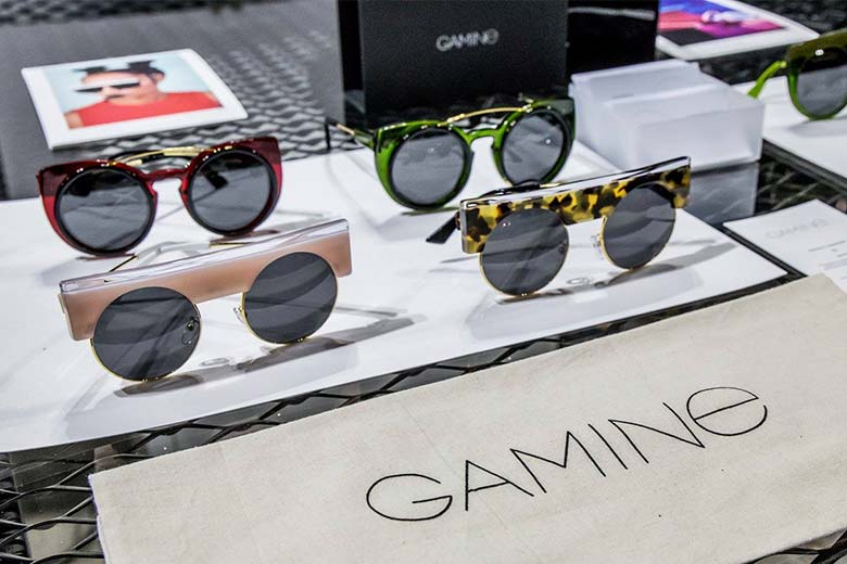 Gamine eyewear, one of Miror's featured brands