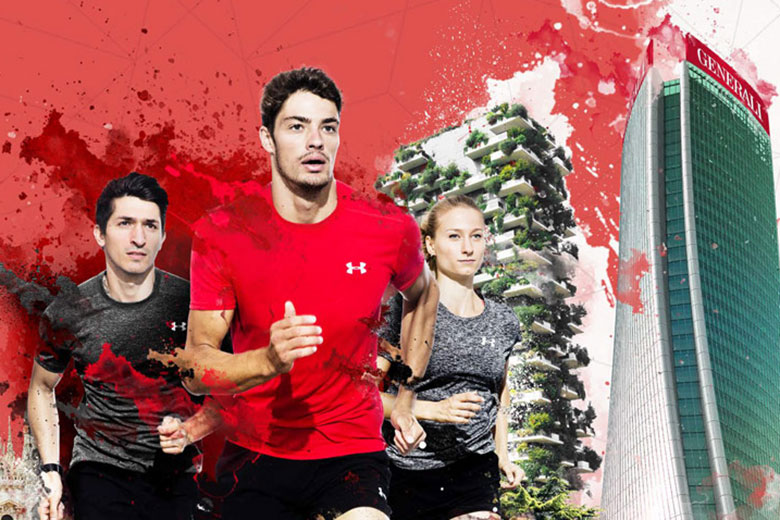 The 19th edition of the Milano Marathon, sponsored by Generali