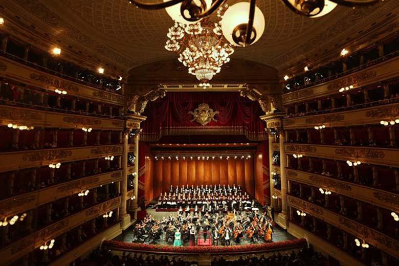 Christmas concert at Teatro alla Scala