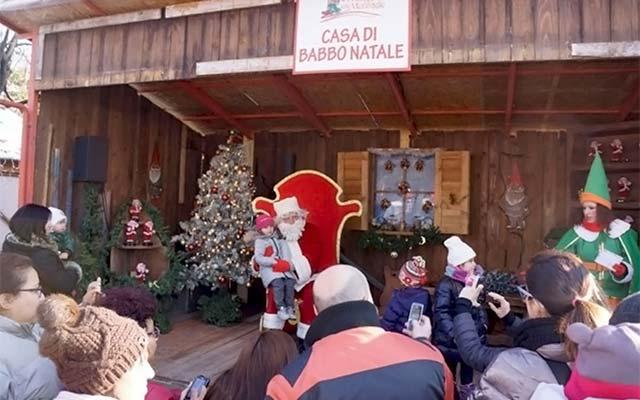 Santa's House at Giardini Indro Montanelli