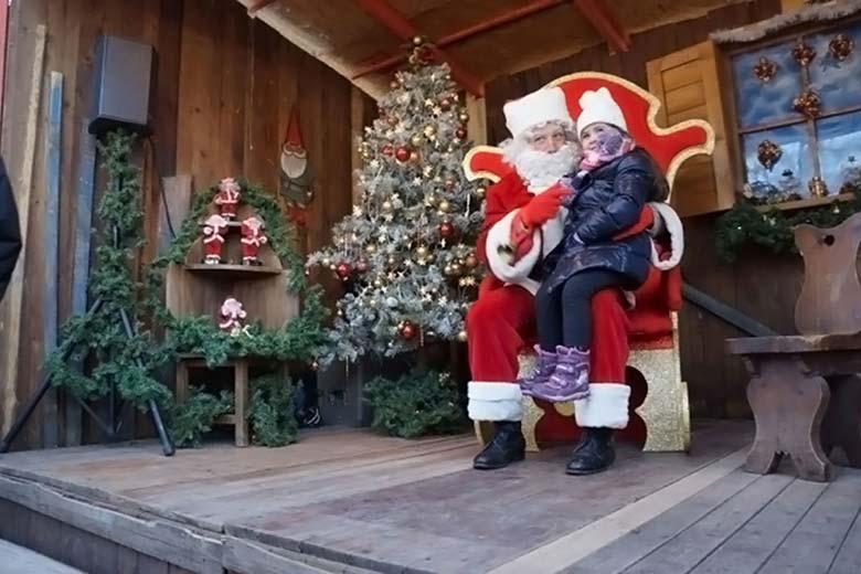 La Casa di Babbo Natale at Il Villaggio delle Meraviglie