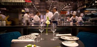 The Chef's Table Experience at Seta by Antonio Guida, awared with 2 Michelin stars