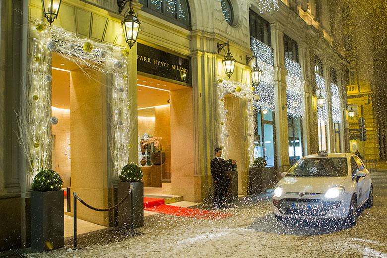 Christmas time at Park Hyatt Milano