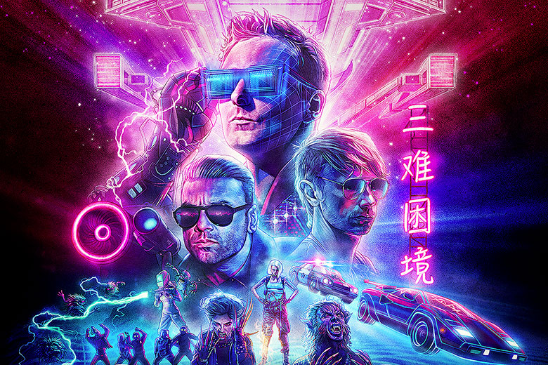The cover of Muse's new album Simulation Theory
