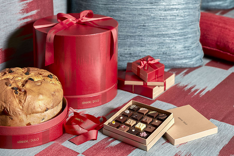 Christmas sweet treats by Armani/Dolci