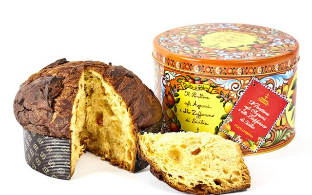 A panettone by Dolce&Gabbana and Fiasconaro