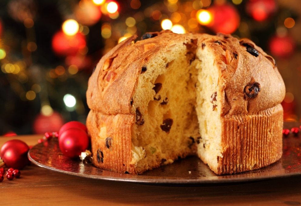 A traditional panettone by Motta