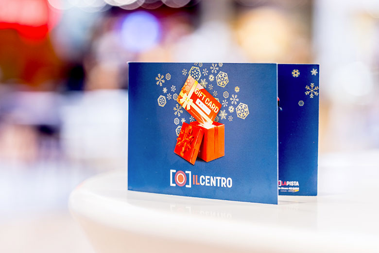 The special Christmas Gift Card by IL CENTRO