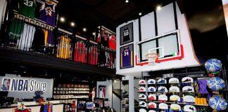The new NBA Store Milano, (C) Sky Sport