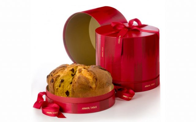 A gourmet panettone by Armani/Dolci