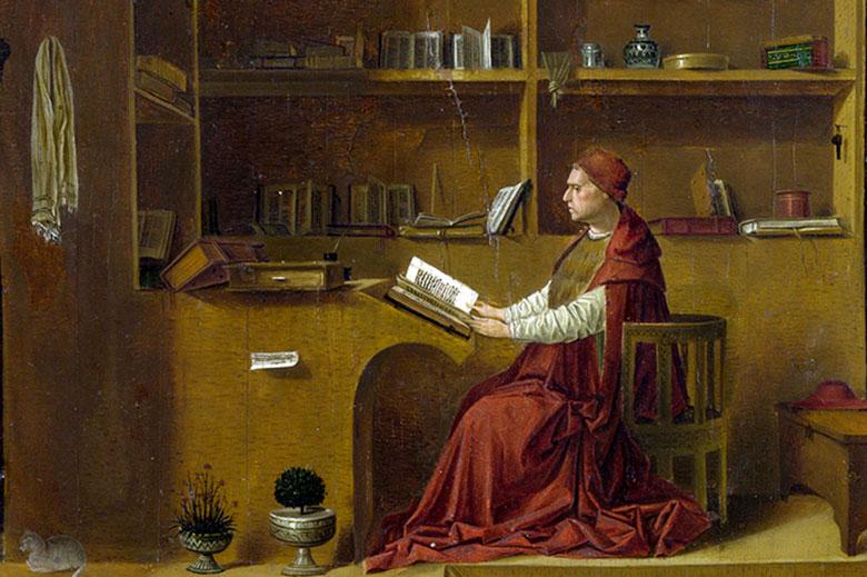 Antonello da Messina, San Girolamo nello studio, National Gallery. Photo credits (c) Comune di Milano