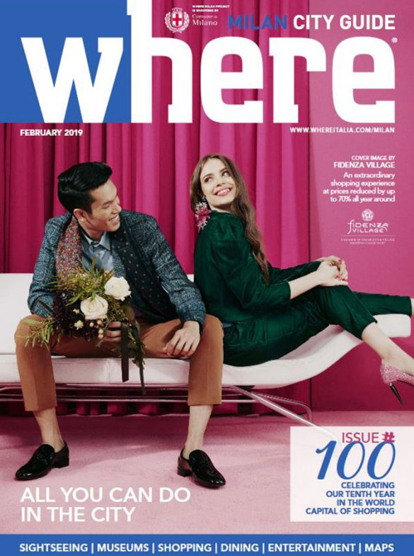 Cover Where Milan 100 February 2019