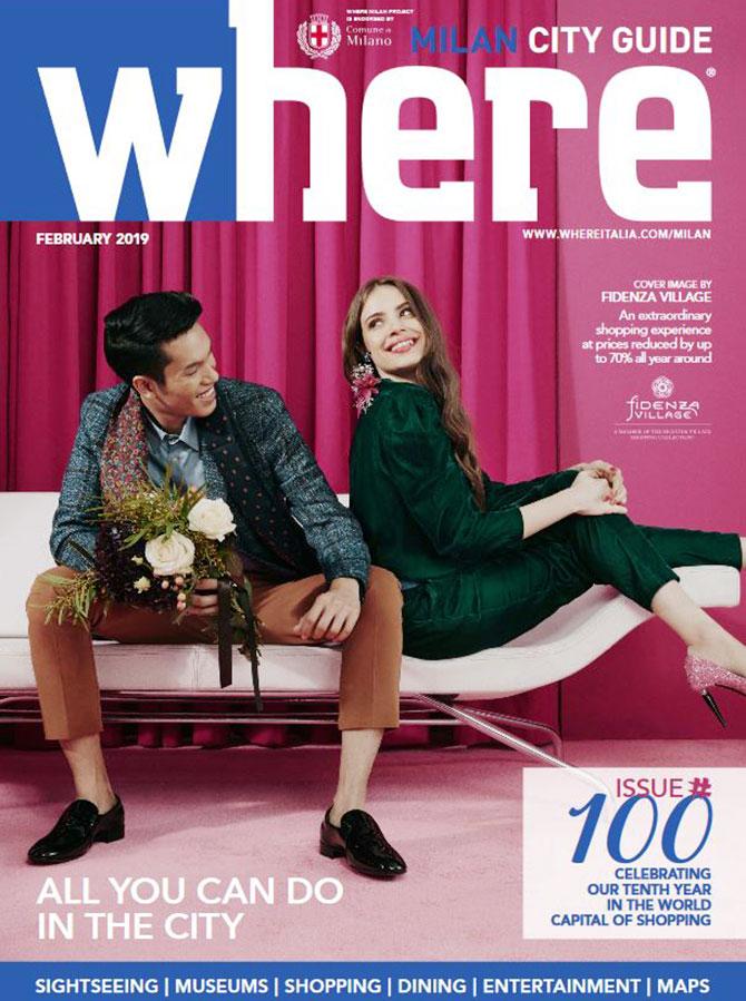 Cover Where Milan 100 February 2019