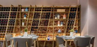 Inside the new Insieme restaurant, photo credits (c) Andrea Fongo
