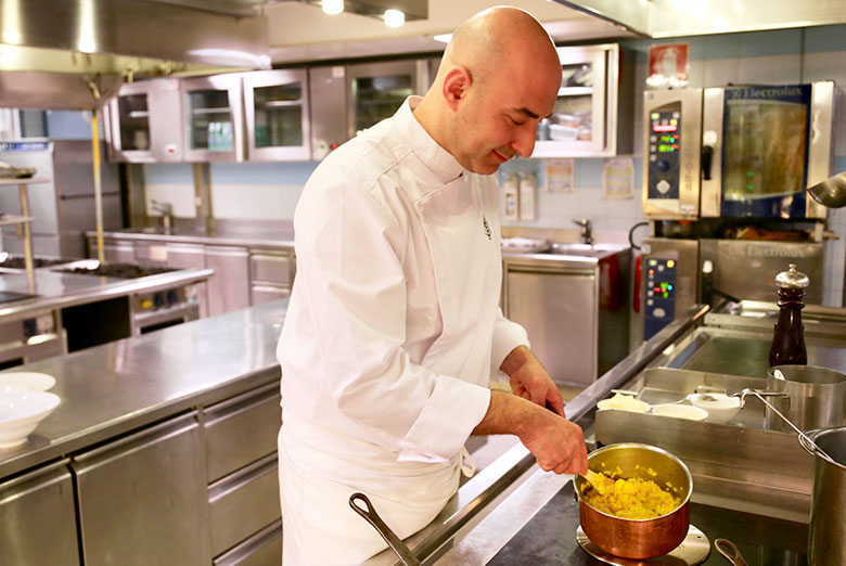 Fabrizio Borraccino, the new Executive Chef of Four Seasons Hotel Milano