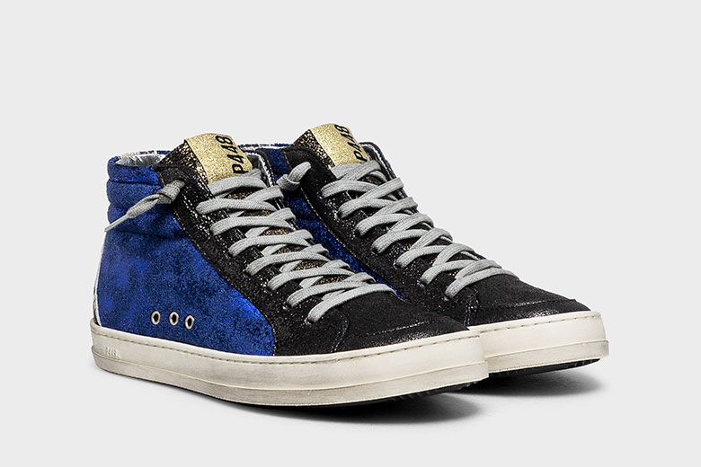 The A8 Skate Velvet Roy sneaker by P448