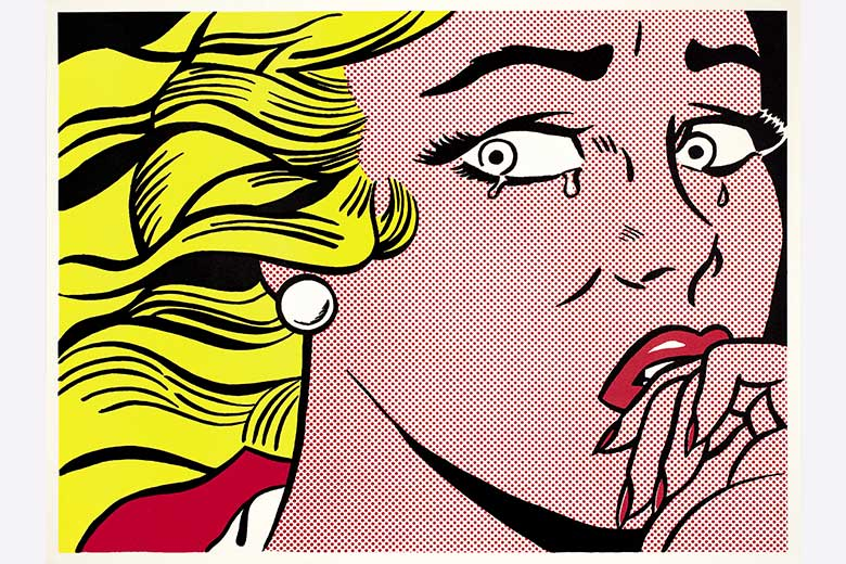 Roy Lichtenstein (c) Crying Girl,1963