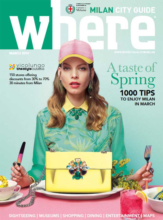 Cover Where Milan n 101 March 2019