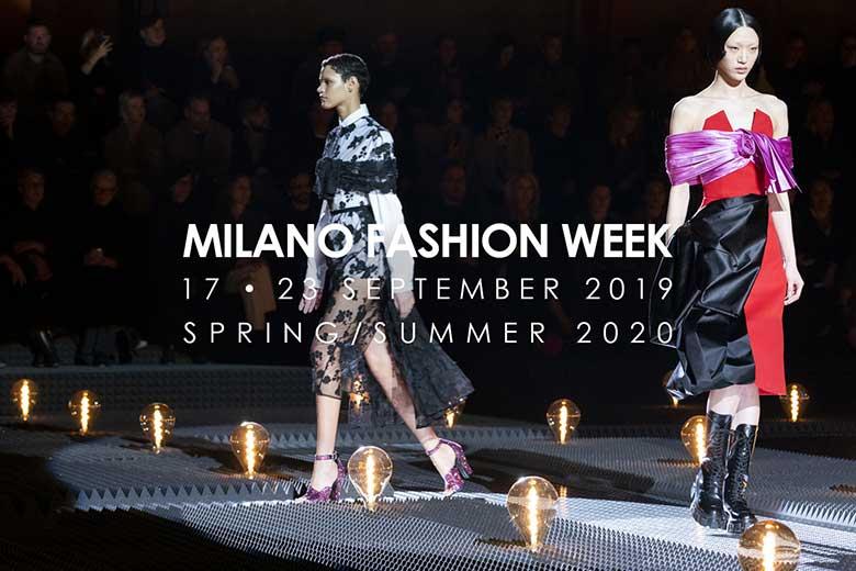 Calendario Moda Milano 2020.Fashion Week Milano Moda Donna September 2019 Where Milan
