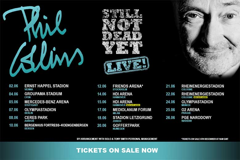 Phil Collins, Still Not Dead Yet World Tour