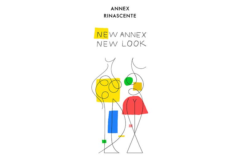 The visual for the New Annex Rinascente